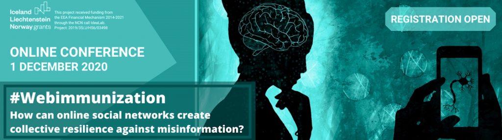 #Cyberodporność.  Wjaki sposób internetowe sieci społecznościowe mogą zbudować odporność nadezinformację?